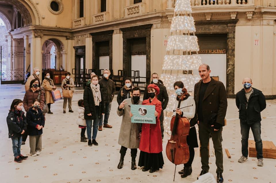 Delivery Theater di Carullo Minasi - Galleria Vittorio Emanuele