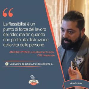 la dichiarazione di Antonio di Socialfood su Delivery