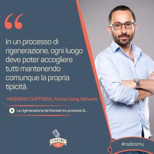 Massimo Ciuffreda di Anima Living Network - rigenerazione territoriale Bravo Innovation Hub