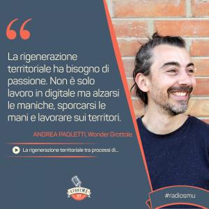 Andrea Paoletti di Wonder Grottole su Rigenerazione territoriale - bravo innovation hub
