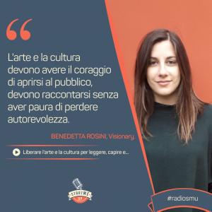 Benedetta Rosini di Visionary su arte e cultura - bravo innovation hub