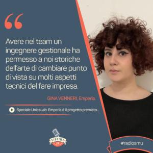 La citazione di Gina di Emperìa - Unicalab