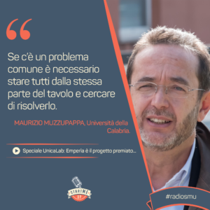 La citazione di Maurizio Muzzupappa di Unical