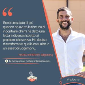 La citazione su formazione in Sicilia di Marco di Edgemony
