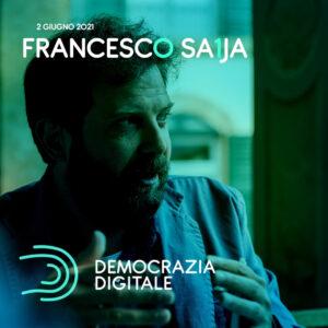 Francesco Saija speaker Democrazia Digitale - evento TEDxCapoPeloro