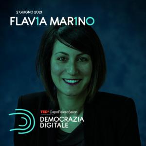 Flavia Marino - speaker Democrazia Digitale - evento TEDxCapoPeloro
