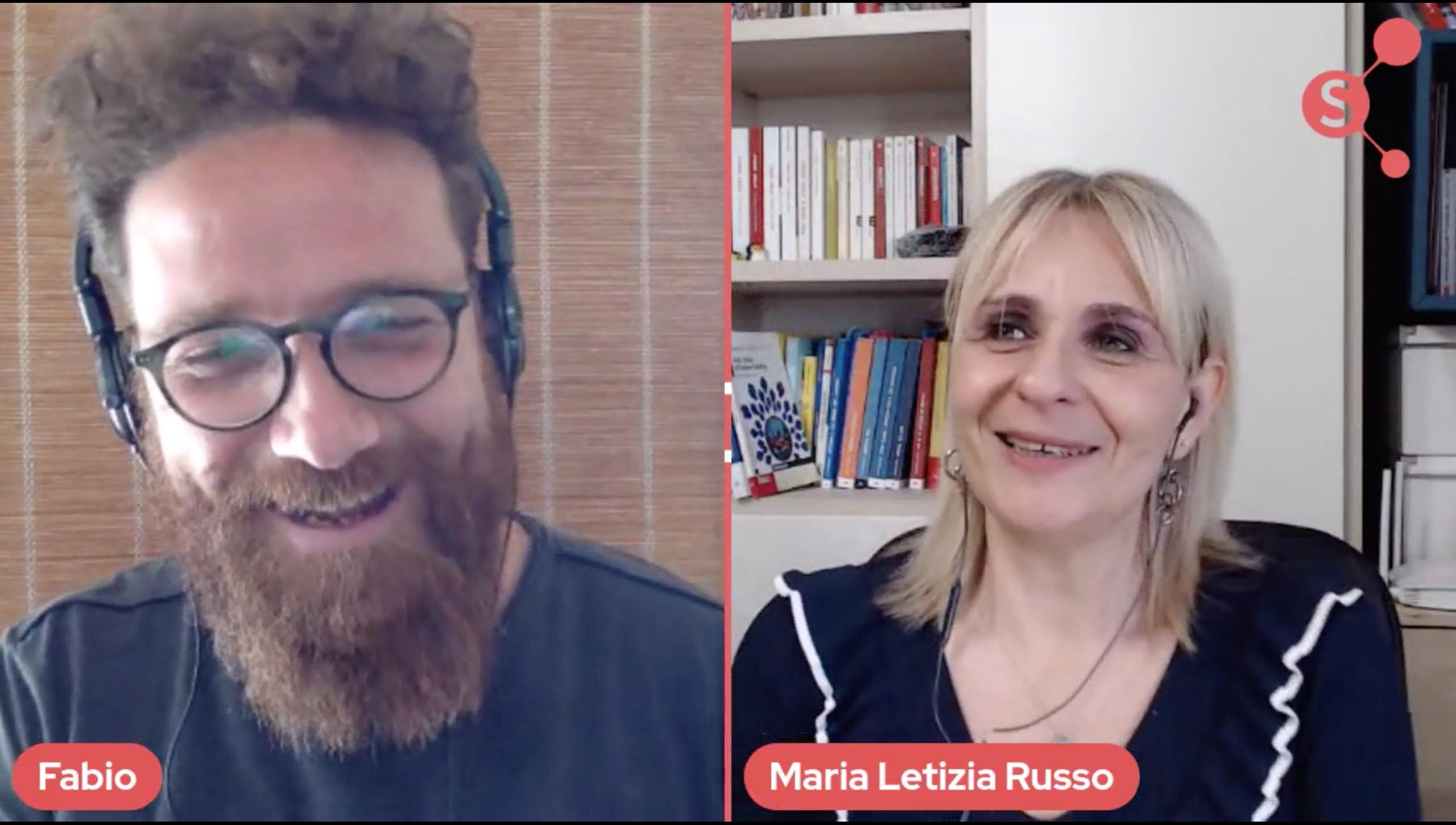 Copertina dell'intervista a Maria Letizia Russo su Linkedin