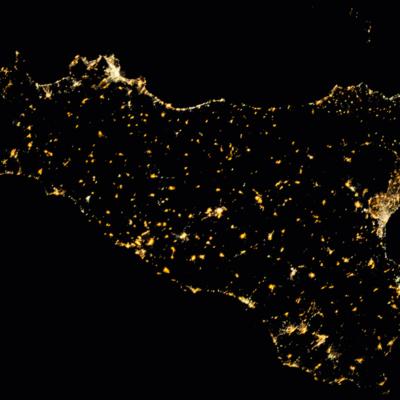 La Sicilia al centro del Mediterraneo