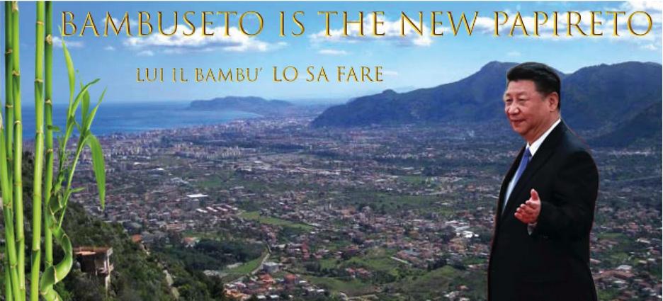 Bambuseto è il nuovo Papireto. (autrice Marianna Viscuso)